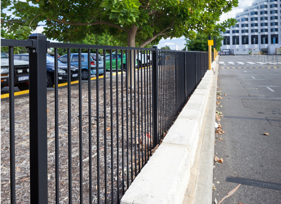 Tubular Steel Fencing Perth