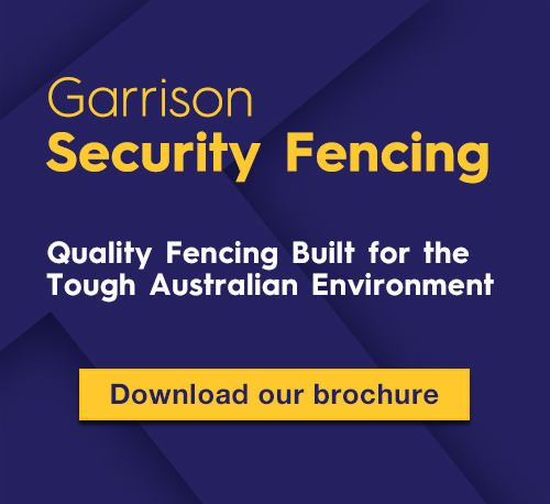 K-Line Commercial Fencing Perth - Garrison Security Fencing Brochure