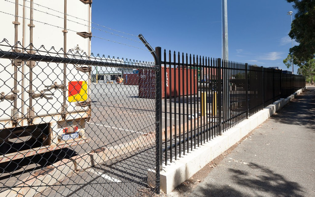 Airport security fencing perth garrison