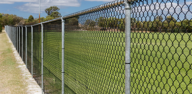 Toll Ipec Chain Wire Fencing Project | Commercial Chain Wire Fence Perth