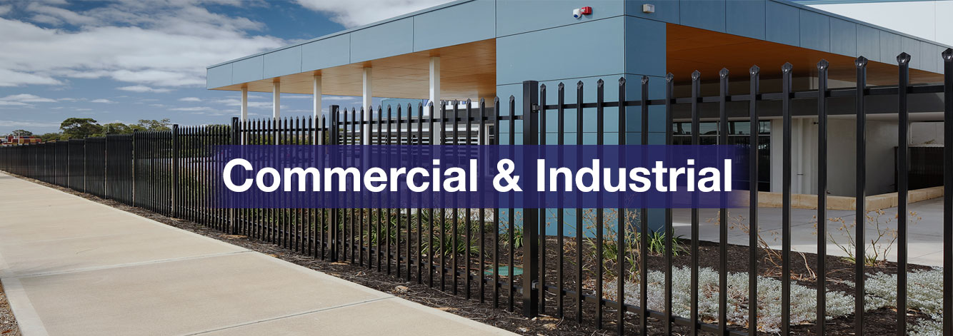 Commercial Property Security : Commercial fencing security