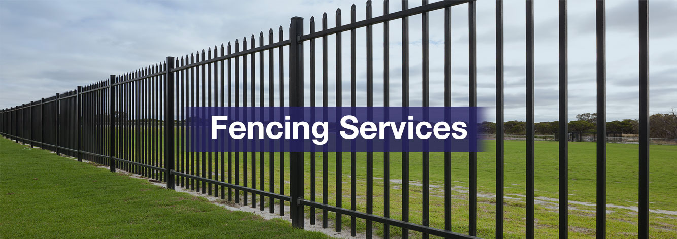Commercial and Industrial Fencing Services, Security Fencing Services