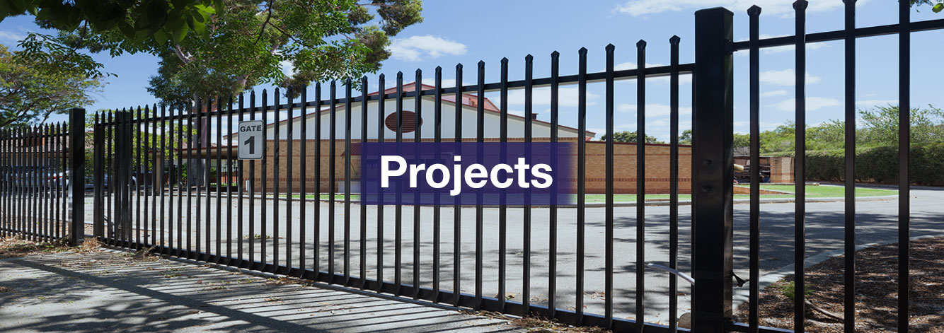 Industrial and Commercial Fencing Projects | Security Fencing Projects