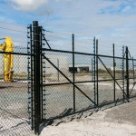 Chain Wire Security Fencing, Chain Mesh Fencing, Chain Link Fencing