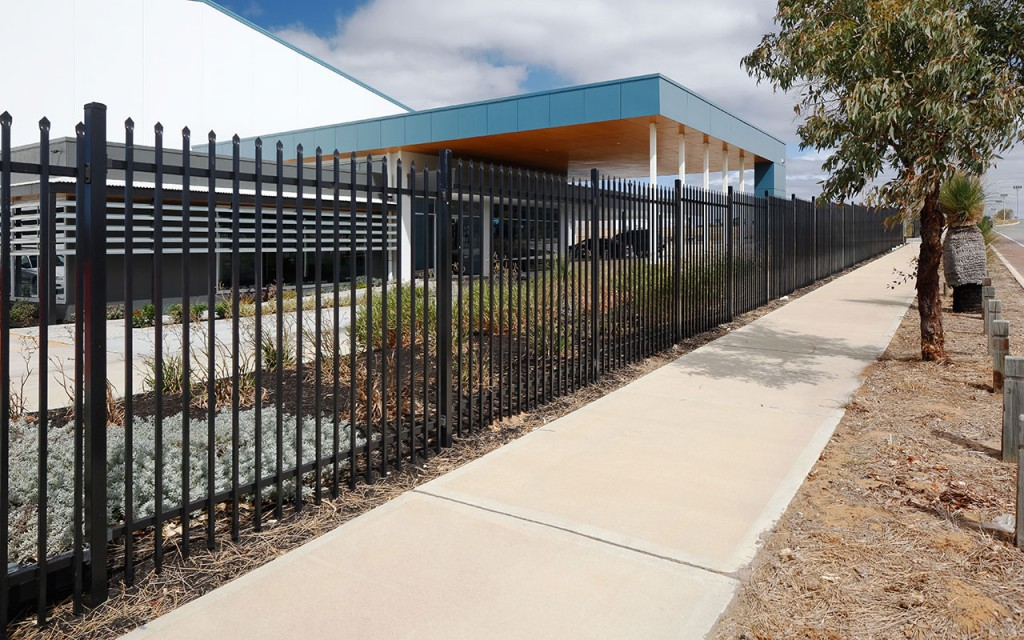 Commercial fencing security