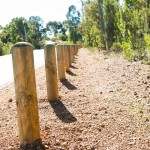 Treated Pine Bollards Perth | Pine Bollards Perth | Timber Barrier Perth