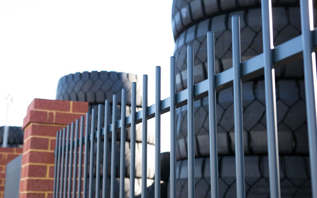 Tubular steel fencing perth